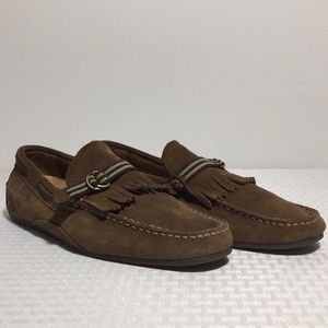 Sperry Top Slider Suede Mens Shoes